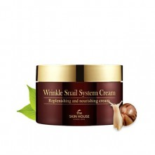 Крем с муцином улитки The Skin House Wrinkle Snail System Cream