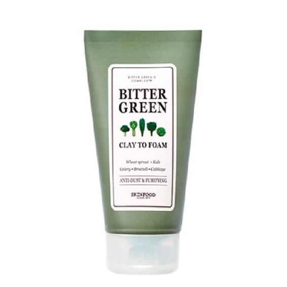 Skinfood Bitter Green Clay To Foam