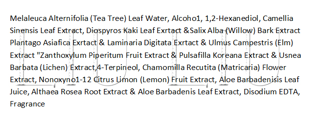 Состав Secret Key Tea Tree Refresh Calming Toner liuliu.ru