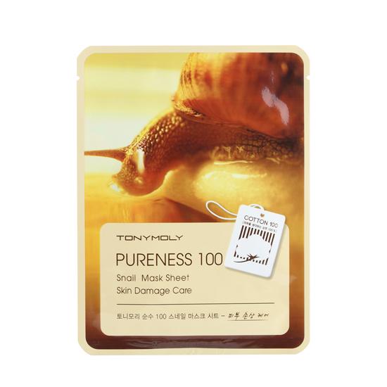 Pureness 100 Mask Sheet улитка liuliu.ru