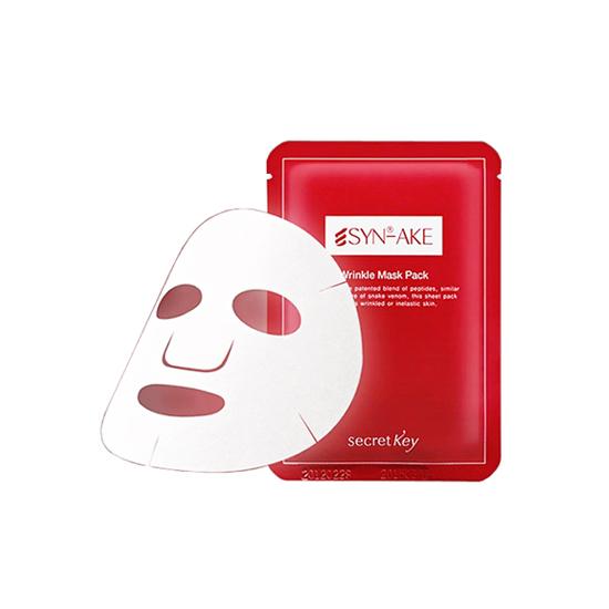 фото Secret Key Syn-Ake Anti Wrinkle & Whitening Mask