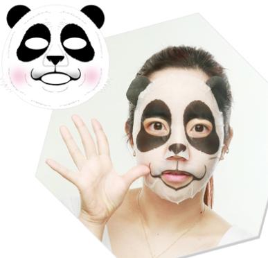 TONY MOLY Pure Farm Painting Mask Lovely Panda