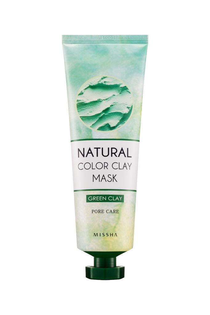 Фото Маска для лица Missha Natural Color Clay Mask Pore Care