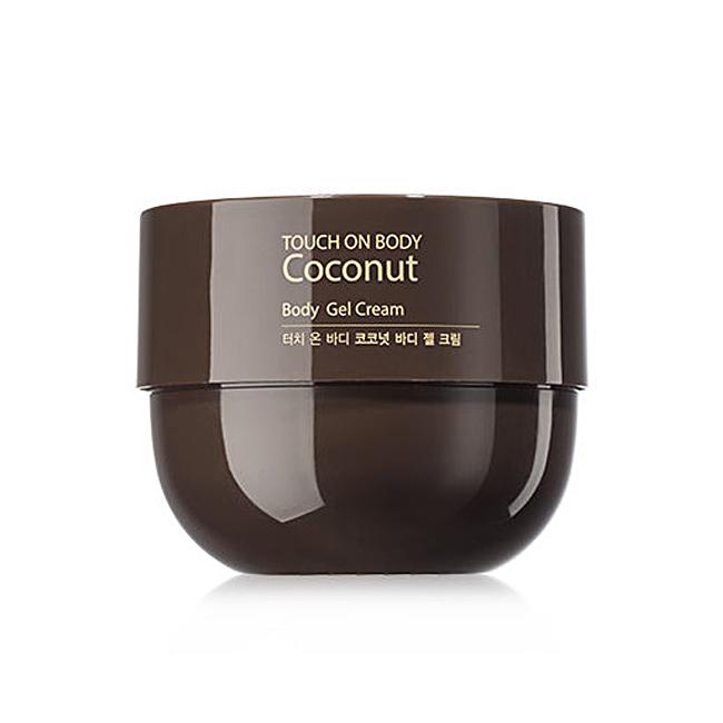 Крем-гель The Saem Touch On Body Coconut Body Gel Cream