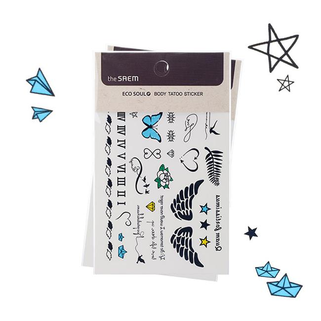 флеш-тату Eco Soul body tatoo Sticker 02. Freedom Zion