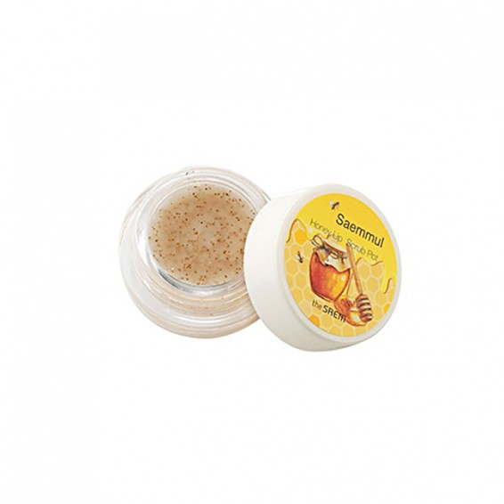 Скраб The Saem Saemmul Honey Lip Scrub Pot