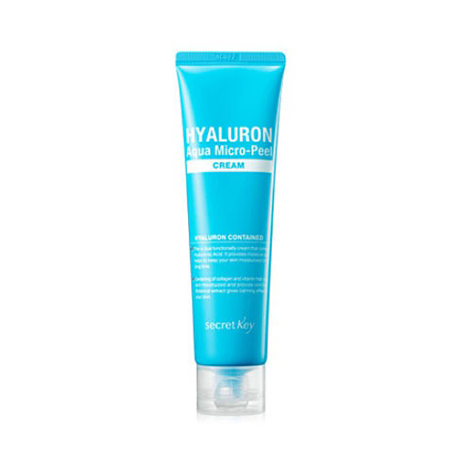 Крем Secret Key Hyaluron Aqua Micro-Peel Cream