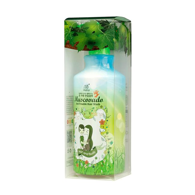 Органический шампунь Muscovado Anti Trouble Hair Wash