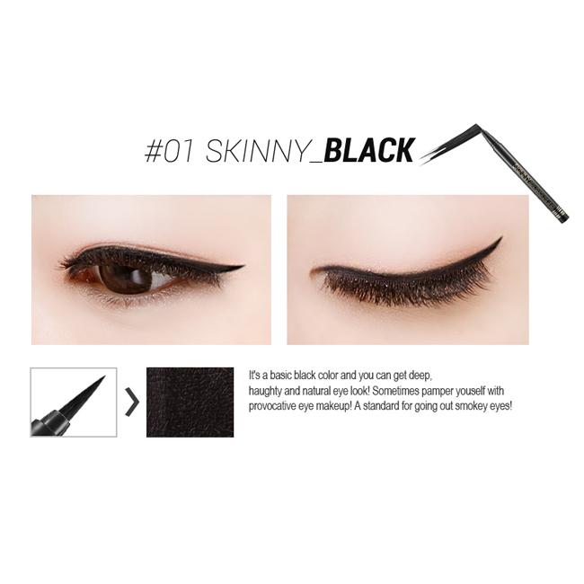 Подводка Secret Key Skinny Real Quick Eye Liner black