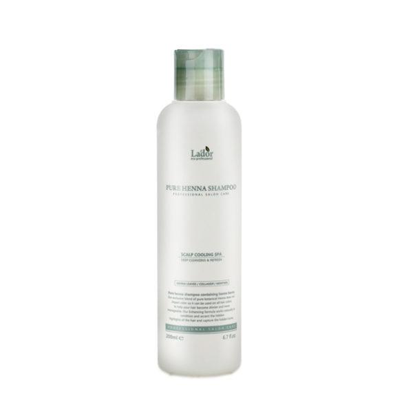 Шампунь для волос с хной укрепляющий Lador Pure Henna Shampoo