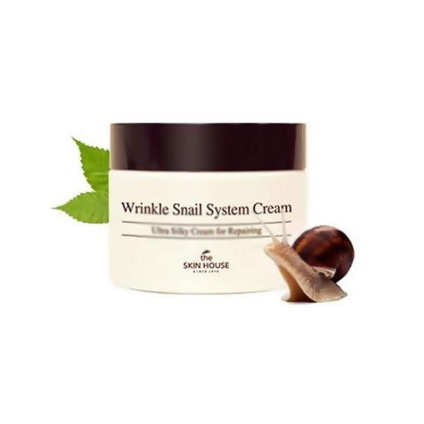 Улиточный крем The Skin House Wrinkle Snail System Cream 50 ml