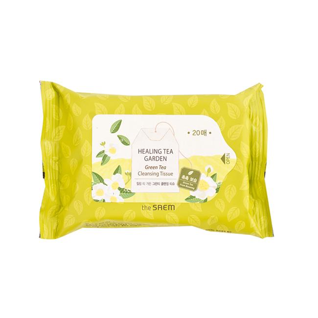 The Saem Healing Tea Garden Green Tea Cleansing Tissue