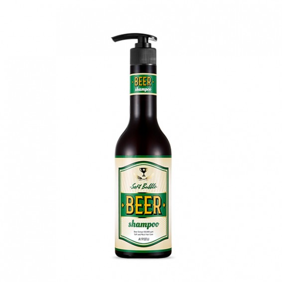 Шампунь A'pieu Soft Bubble Beer Shampoo