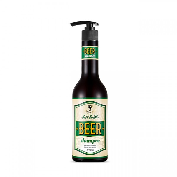 Шампунь A'pieu Soft Bubble Beer Shampoo