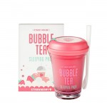 Ночная маска Etude House Bubble Tea Sleeping Pack Strawberry