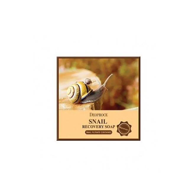 Мыло для умывания Deoproce Snail Recovery Soap