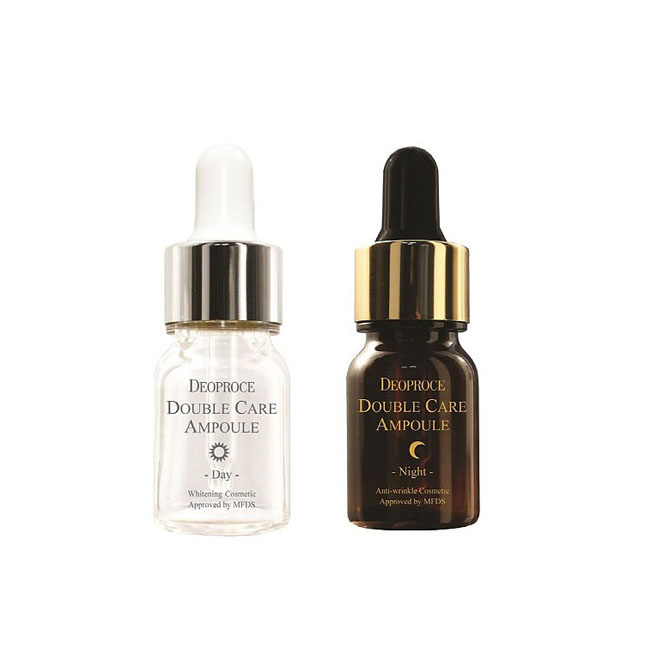 Сыворотки Deoproce Double Care Ampoule Day & Night Single Pack