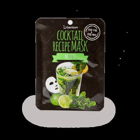 maska-dlya-lica-uvlazhnyayusshaya-cocktail-recipe-mask-mojito-ot-berrisom-20-g
