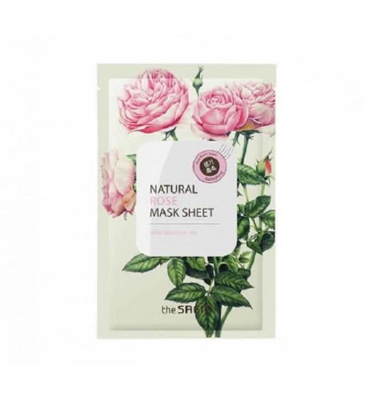 the-saem-natural-rose-mask-sheet-