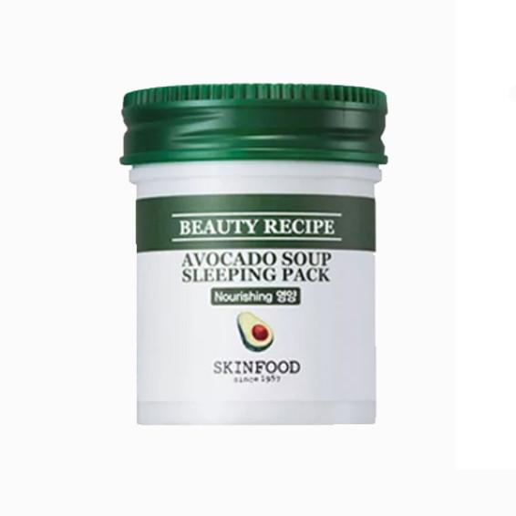 Beauty Recipe Avocado Soup Sleeping Pack