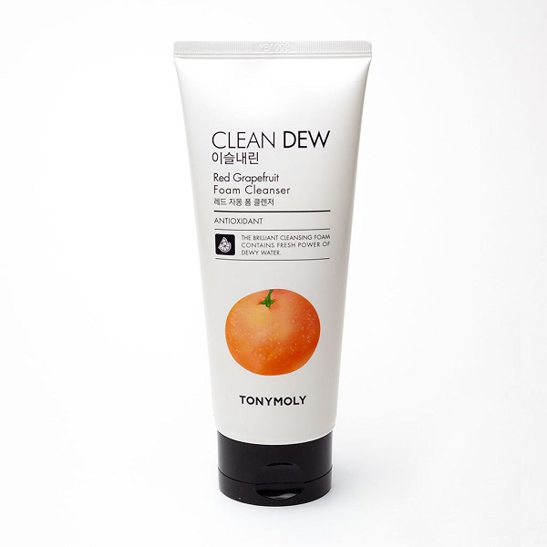 Clean Dew Red Grapefruit Foam Cleanser