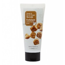 THE FACE SHOP Smart Peeling Honey Black Sugar Scrub