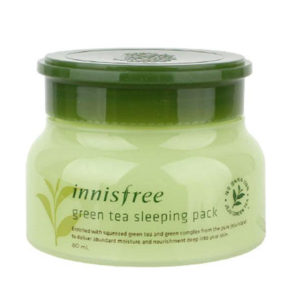 nnisfree Green Tea Sleeping Pack2