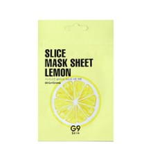 G9Skin Slice Mask Sheet - Lemon