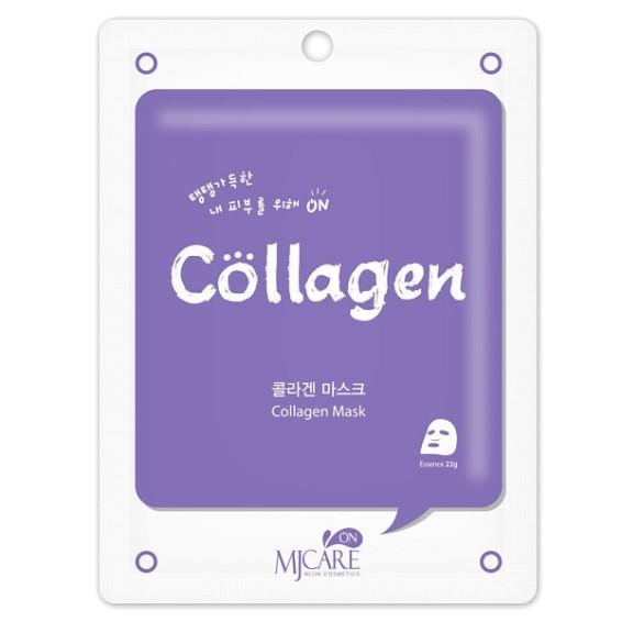 MJ on Collagen mask pack