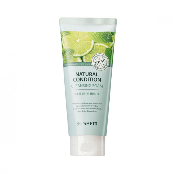 Natural Condition Cleansing Foam [Sebum Controlling]